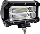 Monnvvin LED Licht Leiste 72W LED Fahren Nebel Arbeits Licht für Off-Road Lichter Jeep Lkw Auto Lkw...