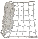 Universal Schutznetz Weiß - Breit von 0,6 Meter bis 2,0 Meter (Breite: 1.0 Meter) Meterware (Preis...