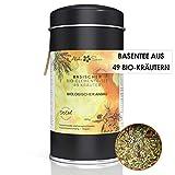 Aloha Sana® | Basentee Bio aus 49 Kräutern (lose) | 100g Kräutertee in luftdichter Aromadose |...