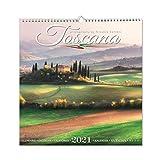 Wandkalender Toscana 2021 - 32,5 x 33,5 cm (mod.05)