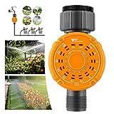 amzdeal Bewässerungscomputer Digitaler Wasserzeitschaltuhr, Wasserdicht Garten Bewässerungsuhr...