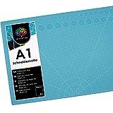 OfficeTree Schneidematte A1 selbstheilend - Blau - Schneidmatte 60 x 90 selbstheilend - Cutting Mat...