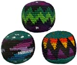 Hacky Sacks Set of Three Pack in Assorted Colors