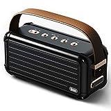 Divoom Mocha 40W Retro Bluetooth Lautsprecher, 25h Spielzeit Hi-Fi Musikbox mit Kraftvoller Bass,...