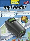 Tetra myFeeder Futterautomat fr Zierfische im Aquarium, anthrazit, inklusive Batterien
