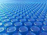 well2wellness® Solarfolie blau 400 My fertig konfektioniert für Ovalbecken 5,25 x 3,20 m