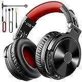 OneOdio Bluetooth Kopfhörer Over Ear [Bis zu 80 Stdn & BT 5.0] Bass Kopfhörer Kabellos mit...