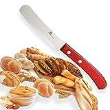 Dellinger Easy Frühstücksmesser, Brötchenmesser - RED