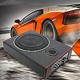 8 Zoll Car Audio Ultradünner KFZ Untersitz Aktiv Subwoofer 600W