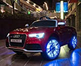 Audi RS 5 - XXL Kinderauto Elektroauto Kinderfahrzeug E-Auto - LED, Leder, Fernbedienung, Akku,...