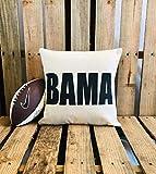 unknow Bama Roll Tide Crimson Tide University of Alabama Kissenbezug Fußball College Football