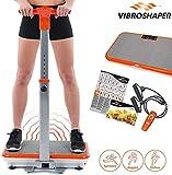 Mediashop VibroShaper mit Griff, Vibrationsplatte, Ganzkrper Trainingsgert mit 3 Stufen, 99...