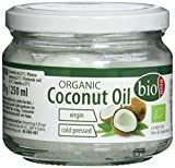 BIOASIA Bio Kokosl, kaltgepresst, naturbelassen ohne Zusatzstoffe, veganes Fett zum Kochen, Braten...