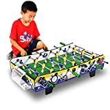 WWKA Tischfußball-Spiele und Zubehör, tragbare Fußball-Tisch-Tischsoccer Tischplatten Kinder...