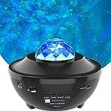 LED Sternenhimmel Projektor, Amouhom Ozeanwellen Projektor mit Fernbedienung/Bluetooth...