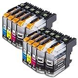 Alaskaprint 10x kompatible Druckerpatronen als Ersatz für für Brother LC223xl LC223 XL LC-223 XL...