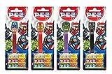 PEZ Spender Set Avengers (4 Spender mit je 3 PEZ Bonbons á 8,5g) + 2 Nachfüllpacks (8 PEZ Bonbons...