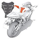 Luxshield Motorrad Tankpad Lackschutzfolie Kratzschutz fr Tank - Carbon Optik & selbstklebend