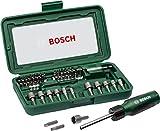Bosch 46tlg. Schraubendreher Set (Zubehör für Elektrowerkzeuge und Handschrauber)