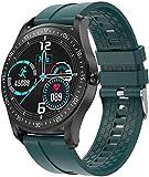 Smart Watch Herren Full-Touch-Fitness-Tracker, Pulsmesser, Smartwatch, wasserdicht IP67, für Herren...