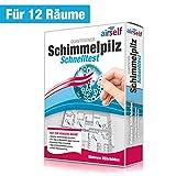 Schimmeltest (Schimmel-Schnelltest) für bis zu 12 Räume – Schimmel Test zur Untersuchung der...