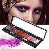 10 Farben Lidschatten-Palette,wasserdichtes,Perlglanz-Makeup-Lidschatten-Pulver, für den angesagten...