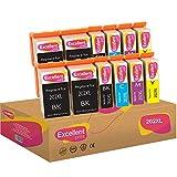 Excellent Print 202XL 202 XL Compatible Ink Cartridges for Epson Expression Premium XP-6000 XP-6005...