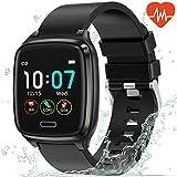 L8star Smartwatch, Fitness Tracker Uhr Touch Screen Fitness Armband Pulsuhr IP67 Wasserdicht...
