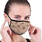 Unisex Anti-Dust Mouth Mask Colorful Presents Reusable Face Mask for Kids Teens Men Women