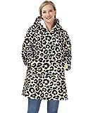 Freshhoodies Hoodie Sweatshirt Decke, Warm, Gemütlich, Übergroß, Tragbar, Taschen Decke,...