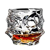 Wukong Direct Likörglas Spirituosenglas, Altmodisches Whiskyglas, Weinglas, 320ml