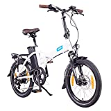"NCM London 20"" E-Bike, E-Faltrad, 36V 15Ah 540Wh Weiß"