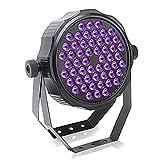 UKing Schwarzlicht LED Strahler 54leds X 2W UV Beleuchtung mit Fernbedienung DMX512 Lichteffekte...