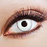 White Spotlight Kontaktlinsen farbig Fun Farbkontaktlinsen |DIA: 14.50 mm | Material: Polyhema |...