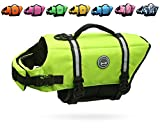 VIVAGLORY Hundeschwimmweste Doggy Float Coat Wassersport Schwimmhilfe Rettungsweste für Hunde...