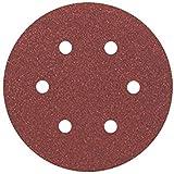 Bosch Professional  Schleifblatt für Exzenterschleifer Holz und Farbe (5 Stück, Ø 150 mm,...
