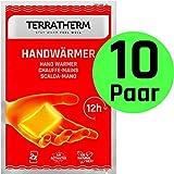 TerraTherm Handwärmer, Fingerwärmer für 12h warme Hände, Wärmepads Hand durch Luft aktiviert,...