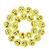Willingood 24 x Emoji Smiley Radiergummi Set für Kinder | Mitgebsel | Kindergeburstagen |...
