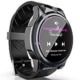 MOLINB Intelligente Uhr Männer Herzfrequenzmesser 4G Smart Watch Telefon 1,6-Zoll-Bildschirm 5,0 MP...