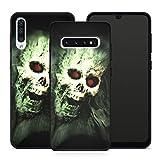 Handyhülle Zombie für Samsung Silikon MMM Belrin Hülle Totenkopf Skull Fluch Skelette Schädel...