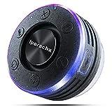 Bluetooth Lautsprecher Dusche, IPX7 Wasserdicht Tragbares Musikbox mit LED Lichter, Bluetooth 5.0...