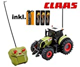 RC ferngesteuerter Traktor Claas Axion 850 Maßstab 1:28 inkl. allen Batterien RTR - Sofort...