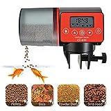 Futterautomat Aquarium, Automatisierte Futterspender, 200ml Kapazität Automatisierte Futterspender...
