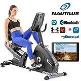 Nautilus Liegerad R626 mit PMS-Magnetbremssystem Liege-ergometer, Bluetooth, kompatibel mit...
