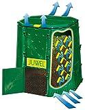 Juwel Premium Komposter Aeroquick 890 XXL (geschlossen, mit Scharnierdeckel, UV-stabil, Nutzinhalt:...