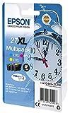 Epson Original 27XL Tinte Wecker (WF-3620DWF WF-3640DTWF WF-7110DTW WF-7210DTW WF-7610DWF...