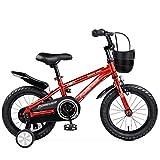 GAIQIN Langlebig Mountainbike, Kinder Balancen-Fahrrad, mit Twin-Tube Carbon-Stahlrahmen und...