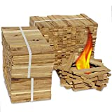 Premium Eiche Anmachholz (Neue Version 2020) – Besonders sauberes und trockenes Brenn-Holz –...