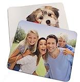 Dogidogs Mousepad mit eigenem Foto, individuell Bedruckt mit Logo oder Motiv, 5 mm stark, 270 x 190...