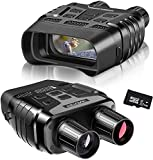 Rooauueu Digitales Nachtsichtgerät Binokular, 2,31' TFT LCD 300 m Sichtweite 960P Video 4-facher...